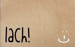 Lach :-)  #zinvol