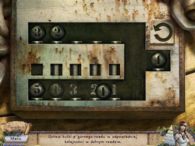 Gra «Riddles of Egypt» 25.02.2017 http://pl.topgameload.com/?cat=casualpcgames&act=game&code=10029  Straszny Mrok spowił Egipt! Czy uda Ci się rozwiązać starożytnie łamigłówki i rozplątać zawiłe zagadki, żeby zwyciężyć to zło? Starożytni Egipt, epoka faraonów. Mrok grozi ziemi. Kapłani podstępem zwabili tą tajemniczą siłę i zamknęli ją głęboko pod ziemię, gdzie było jej sądzone przebywać w wiecznym śnie podziemia. Egipt, 1932 rok, czas przygód. Minęło 3000 lat, zło się obudziło i teraz tylko…