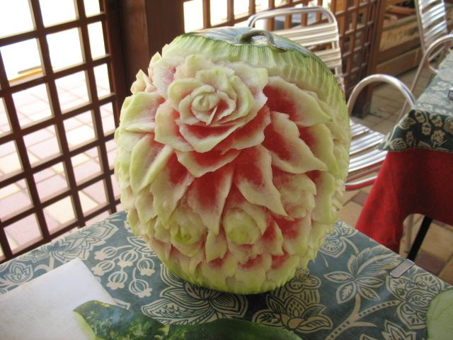 Cocomero in fiore
