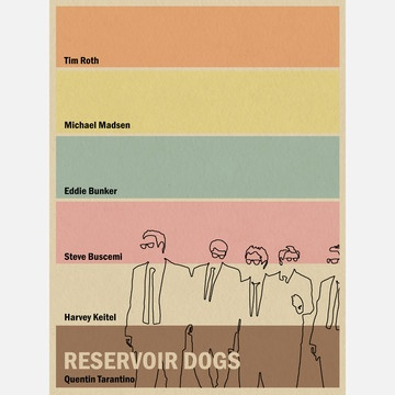 Reservoir Dogs Inspired $45 - Joseph Chiang: Dogs Poster, Movies Inspiration, Favorite Movies, Minimal Movies Poster, Reservoir Dogs, Dogs Inspiration, Dogs Inspired18X24, Minimalist Movies Poster, Joseph Chiang