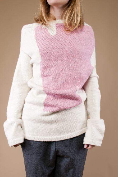 Kostenlose Strickanleitung: Intarsien Pullover - Initiative Handarbeit