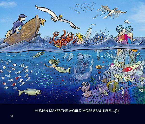 Human makes the world more beautiful ..(?)