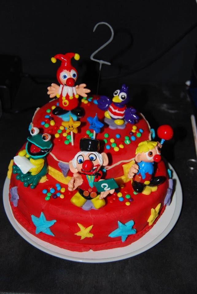 Schitterende Carnaval Festival taart