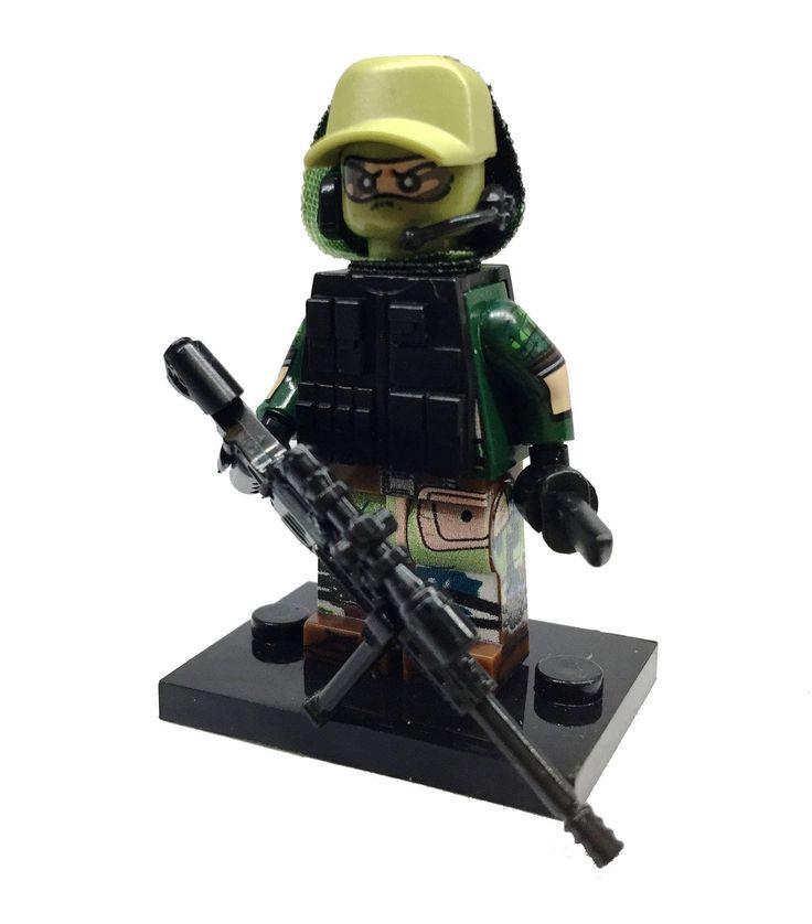 Brick Forces Minifigure Russian ALPHA Group - Viktor