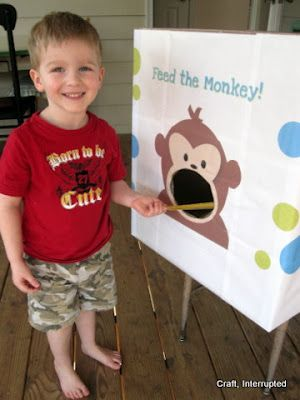 Monkey party games