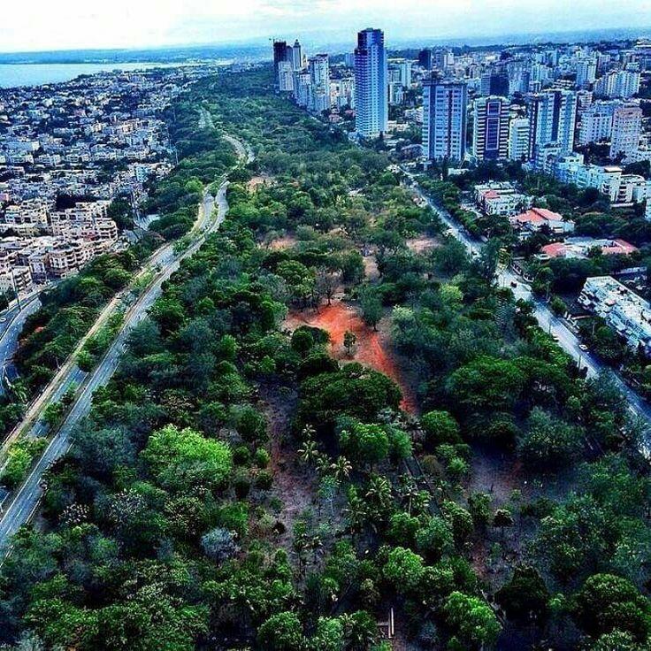 Dominican Republic Map With Cities%0A Ciudad Santo Domingo  RD vista Parque Mirador Sur  SurPrimerDominican  RepublicSantosCityPrimersPaint Primer