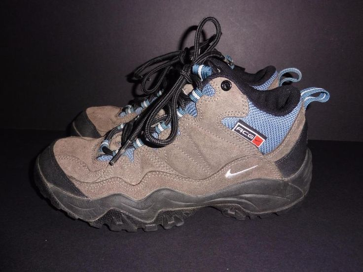 Nike Womens  8.5 ACG tan suede hiking boots camping athletic sports shoes ankle | Clothing, Shoes & Accessories, Women's Shoes, Boots | eBay!