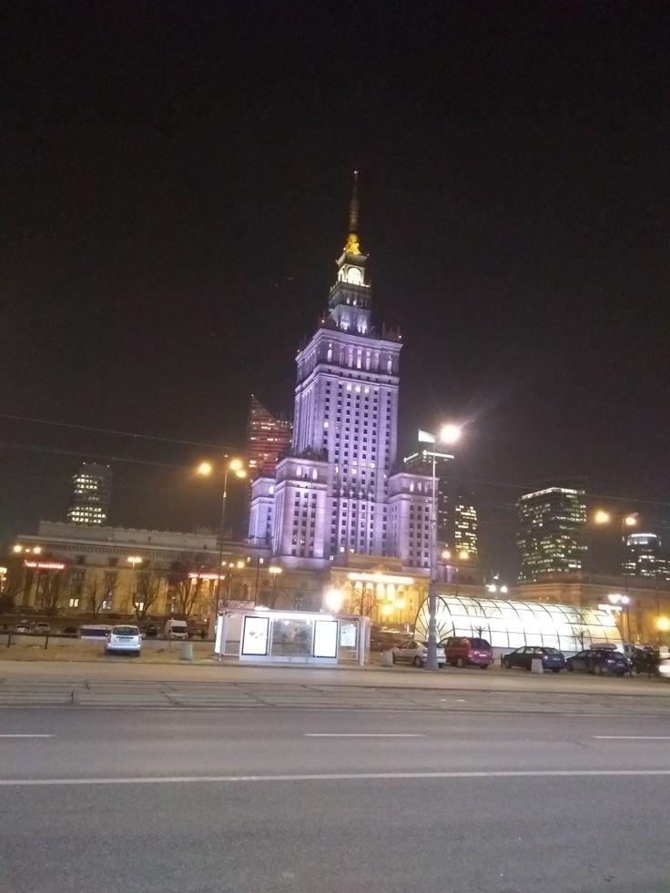 Palácio da Cultura/ Varsóvia PL  13/02/2018