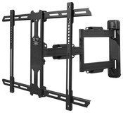 """Kanto - Full-Motion TV Wall Mount for Most 37"""" - 60"""" Flat-Panel TVs - Extends 22"""" - Black"""