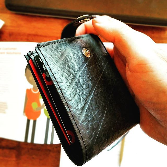 Recycle Creative  - Recycled Inner Tube - Trucka Wallet