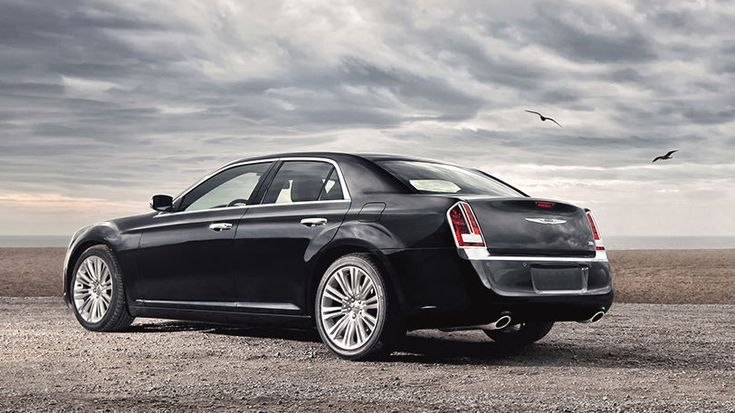 The 2014 Chrysler 300C is aggressively refined.