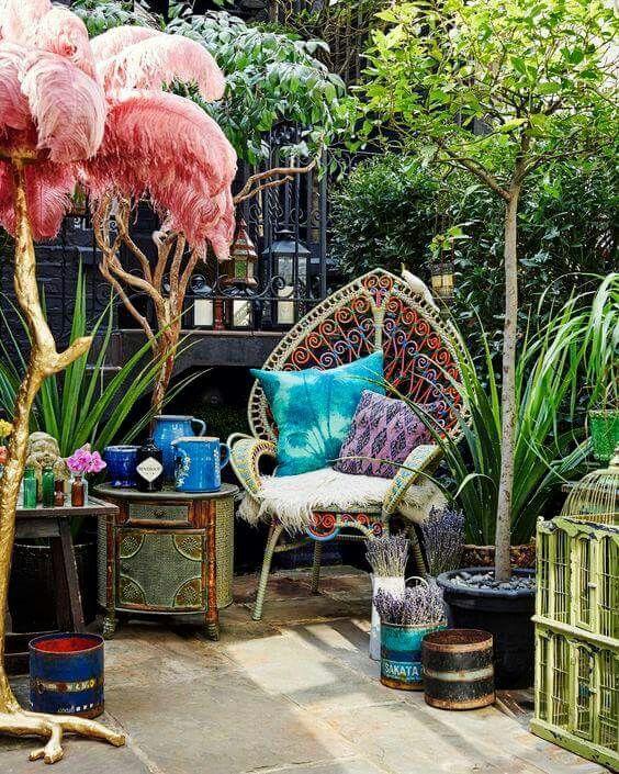 Patio Home Decor: Best 25+ Bohemian Patio Ideas On Pinterest