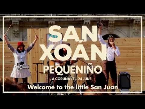 Let's enjoy San Xoan Pequeniño with us! Come to A Coruña