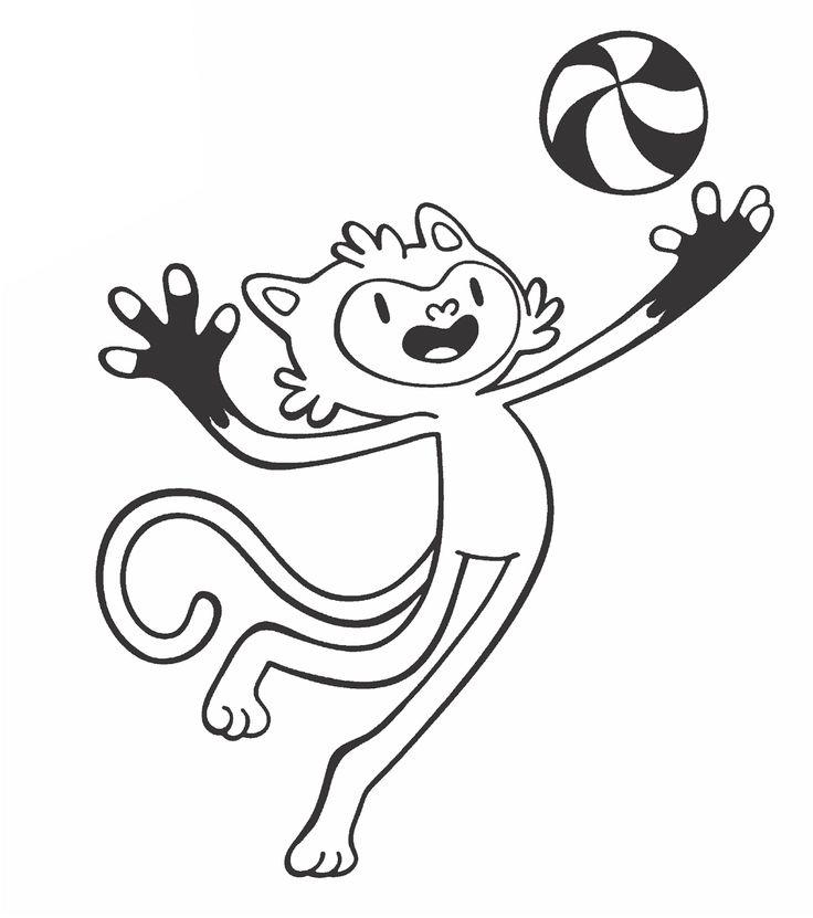 mascotes olímpicos 2016 para colorir - Pesquisa Google