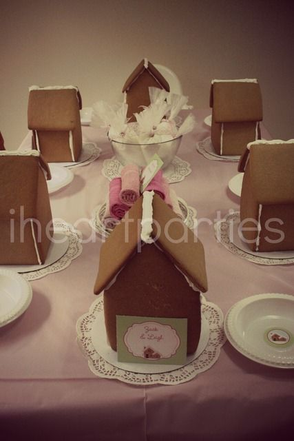 1000 Ideas About Gingerbread House Parties On Pinterest