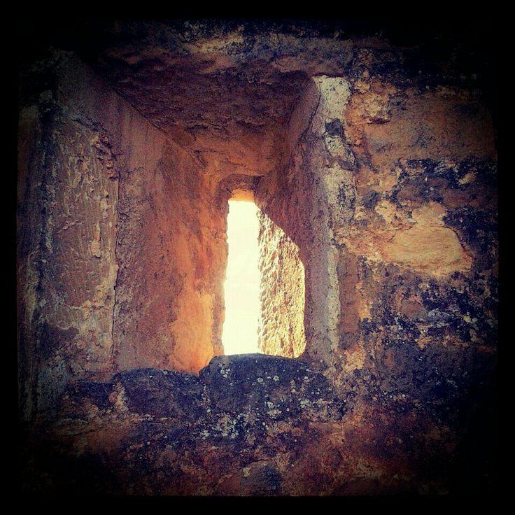 Vista al infinito. #castillo #vano #muralla