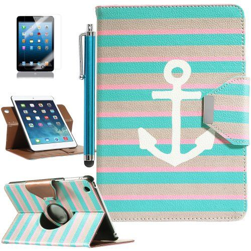 Pandamimi ULAK(TM) 360 Rotating PU Leather Stand Card Holder Case Cover with Auto Sleep/Wake Function for Apple iPad Mini 7.9 Inch (not suit for ipad mini 2) with Stylus and Screen Protector (Pattern-Stay II) ULAK http://smile.amazon.com/dp/B00H3BPSQ0/ref=cm_sw_r_pi_dp_XFA0tb11DCQAQZQ4