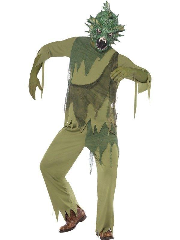 Swamp Monster Man Costume | £48.99 | Costumes | Pinterest ...