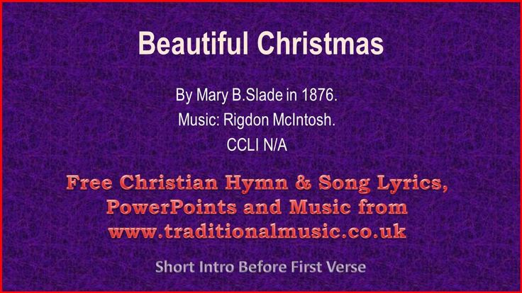 Beautiful Christmas(Slade) - Christmas Carols Lyrics & Music