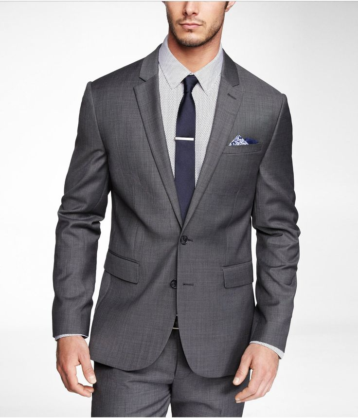 MICRO TWILL INNOVATOR SUIT JACKET | Express