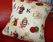 Piped Cushion PDF sewing pattern tutorial. Beginner Friendly.  Make your own beautiful cushions, Lots of instructions & diagrams