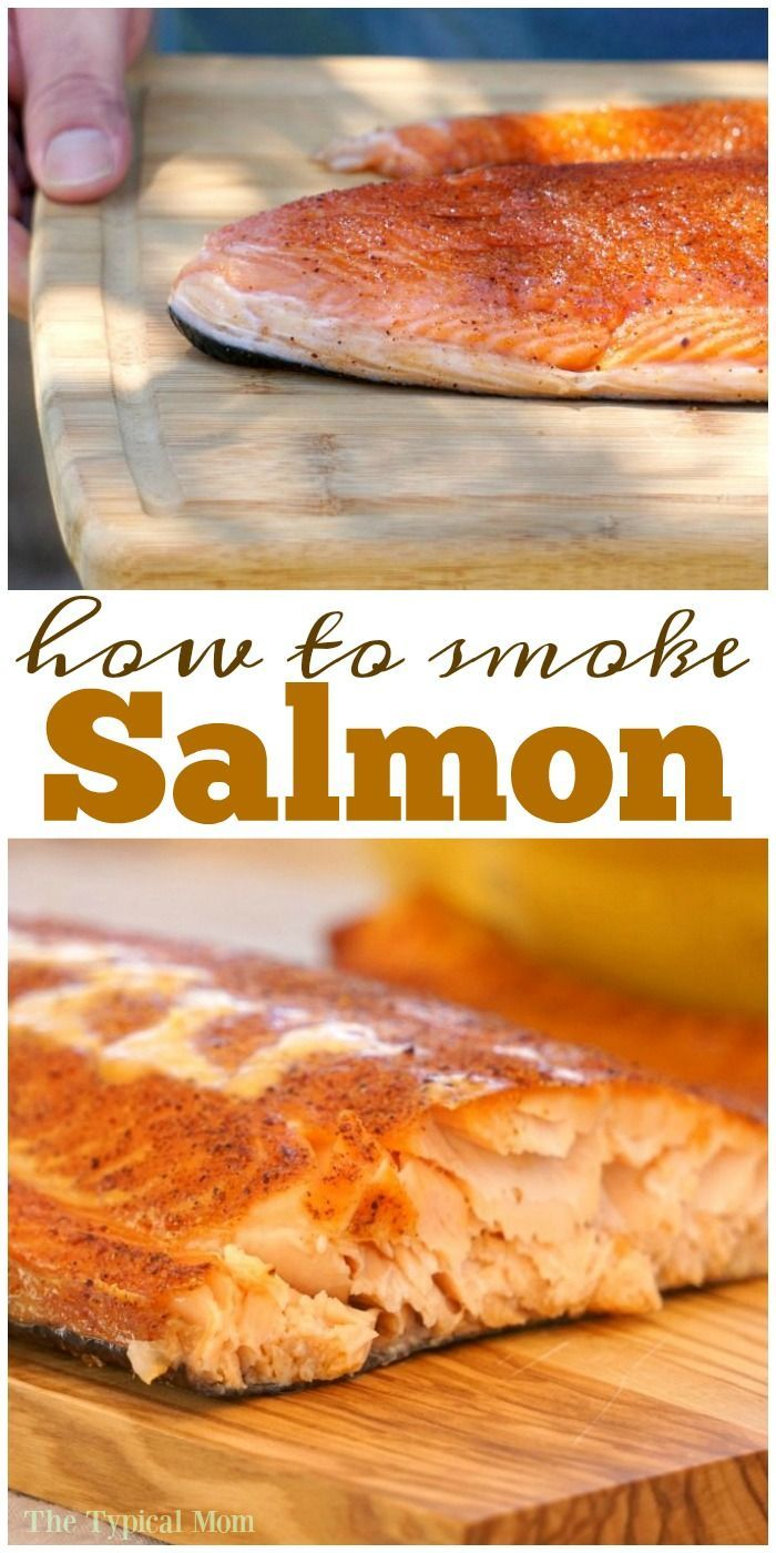 How to smoke salmon at home! This smoked salmon recipe is the best one you will ever try, even our kids gobble it up when it's done! via @thetypicalmom