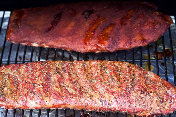 Smoked Competition Ribs vs Dry Pork Ribs