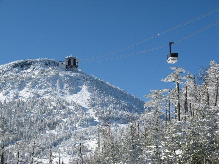 ** Jay Peak, VT / My favorite Vermont ski resort, reminds me of skiing in Europe.