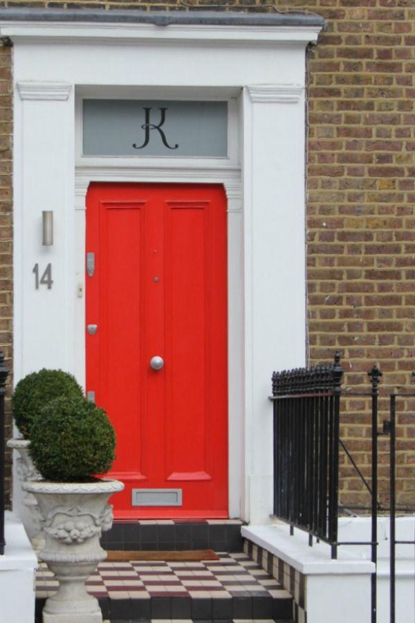 20 Lovely London Doors Paint Color