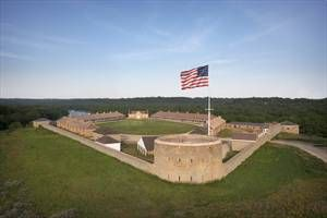Historic Fort Snelling in St. Paul Minnesota:  Open Year-Round.  Once the farthest outpost of the U.S. in the homeland of the Dakota people, Historic Fort Snelling was later used for military training from the Civil War through World War II. Nearby Sibley House Historic Site features some of Minnesota's oldest buildings. Highlights:  • Restored 1820s fort including barracks, store & hospital • Dred Scott's 1836-40 living quarters. #ONLYinMN  ExploreMinnesota.com