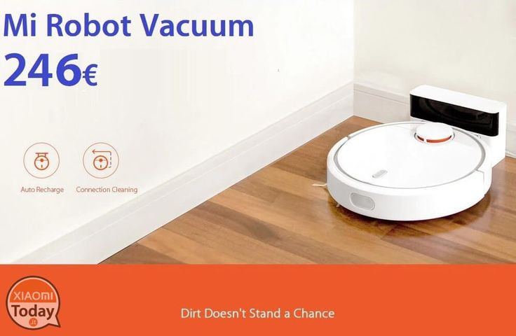 Codice Sconto - Mi Robot Vacuum a soli 246€ Spedizione e Dogana inclusi #Xiaomi #Aspirapolvere #MiRobot #MiRobotVacuum #Offerta #Vaccum #Xiaomi https://www.xiaomitoday.it/?p=26023
