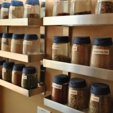 An exclusive sneak peek into the pantry of the Domestic CEO. How does this expert organizer manager her spices?