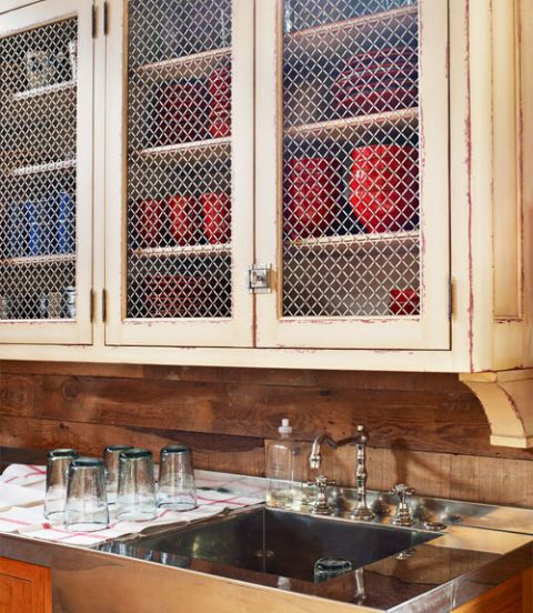 25 Best Wire Mesh Inserts For Cabinets Images On Pinterest