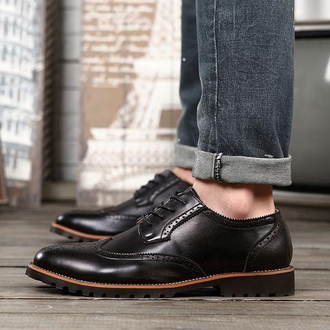 Brogue Shoes (2 Colors)  #TakeClothe #Mensfashion #Fashion #Streetstyle #Shoes