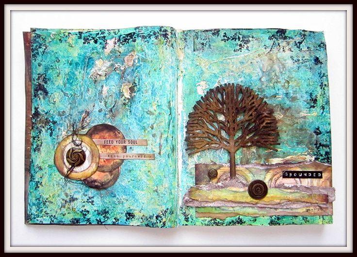 Grounded- Art Journaling