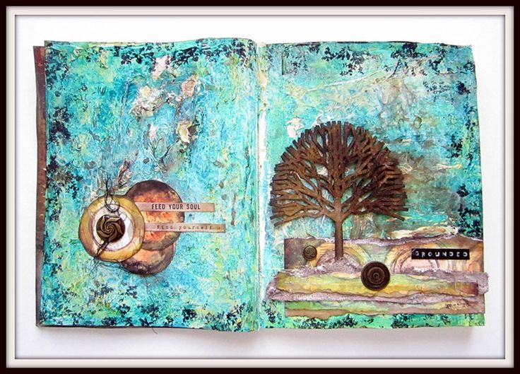 Grounded- Art Journaling