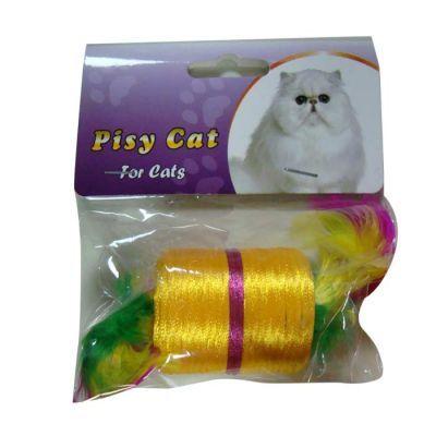 Pisy Cat Tüylü Makara Kedi Oyuncağı