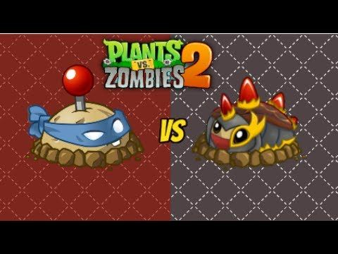Plants vs Zombies 2 - POTATO MINE  Vs PRIMAL POTATO MINE NEW!!