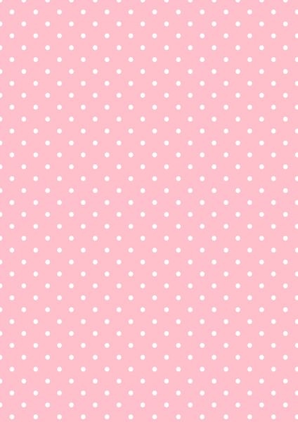 Cicideko - Digital Polka Dot Pink Paper