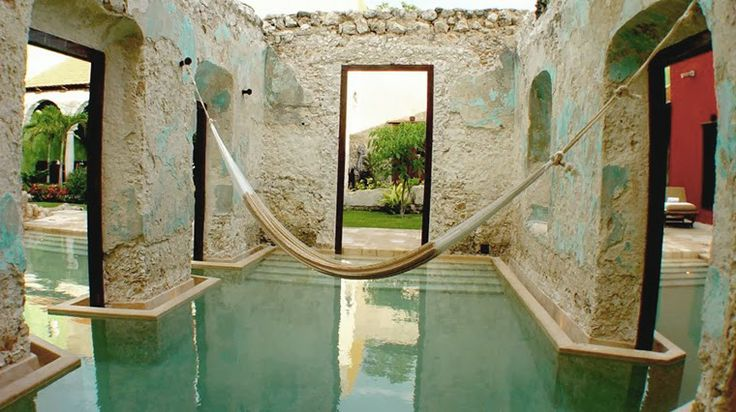 Hacienda Ruins repurposed as Swimming Pools