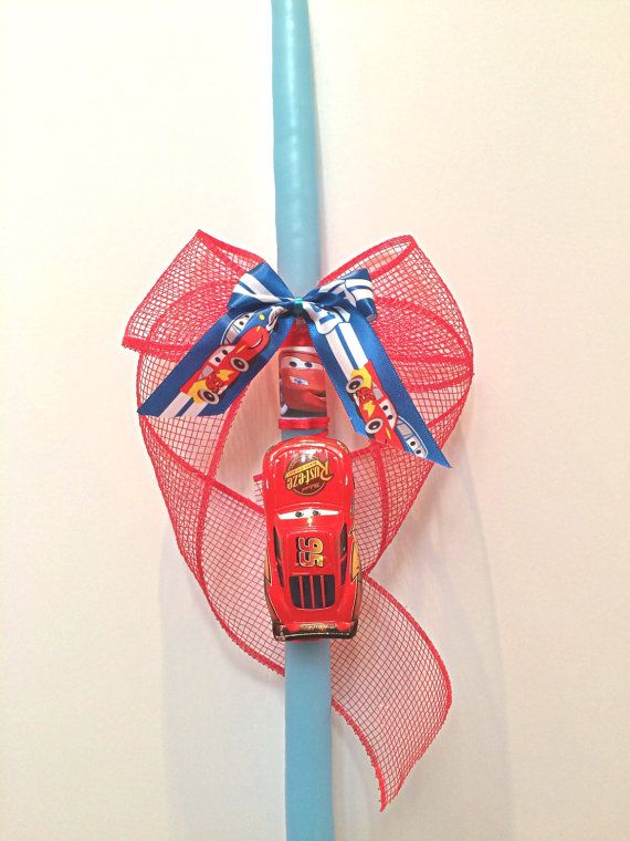 Greek Easter Candle Lambada  Easter orthodox candles by Zoes4life
