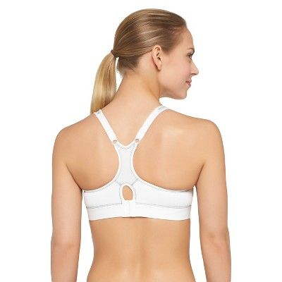 Women's High Support Sports Bra With Molded Cup - C9 Champion True White 36D