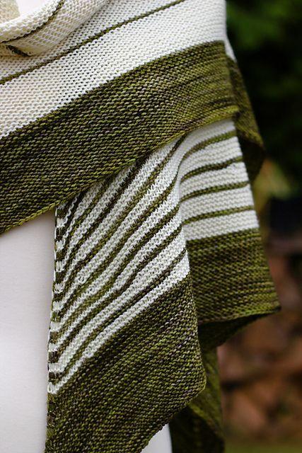 Ravelry: 88stitches Stripe Study Shawl