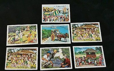 Vintage Birthday Greeting Cards National Book Store Manila, Philippines Lot of 7