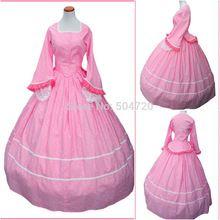 R-480 Custom Made 1860 S Período de Guerra Civil Gothic lolita Dress/Vitoriano Vestidos/Vestido Do Renascimento Do Vintage Trajes(China (Mainland))