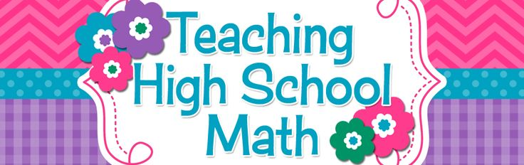 This blog will give ideas for teaching middle and high school math.
