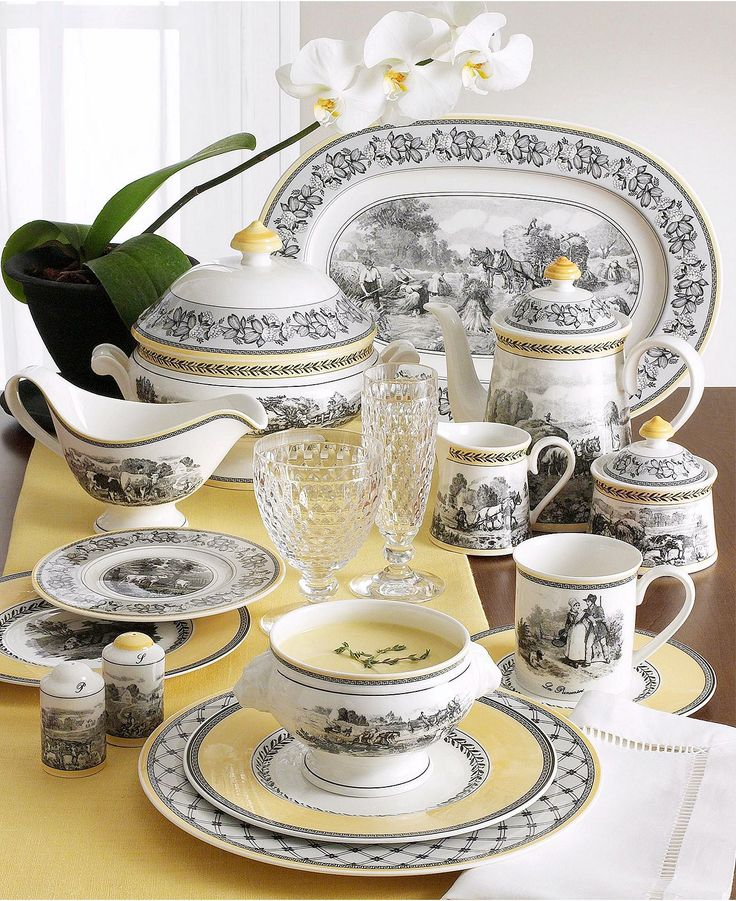 Audun Dinnerware Collection. Casual DinnerwareDinnerware SetsChina ... & 109 best China Collection images on Pinterest | Dish sets Dishes ...