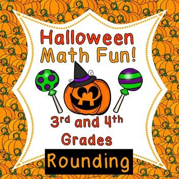 Make Math fun for your students this October!  Your students can practice rounding numbers, satisfy the Common Core standards, and have a little Halloween fun, too!  This packet is perfect for 3rd and 4th graders.       What You Get   When you download this free product, you will receive a PDF packet.