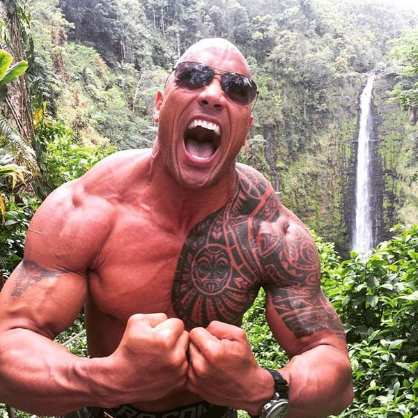 Dwayne ''The Rock'' Johnson's Daily Diet Plan Revealed: 7 Meals, 36 Ounces of Cod and Approximately 4,131 Calories | E! Online Mobile