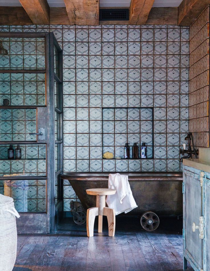 Rustic Tiles For Bathroom  74 Gallery For Photographers  Rustic Bathrooms